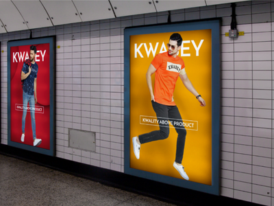 Kwabey Branding red mustard yellow cool photoshop adobe fashion branding advertisement