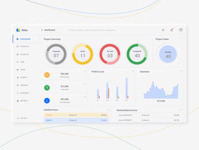 Atlas : Work Management Platform management app web  design work web ui design web designer web site web app ux web uiux work management app webui web design design application vector app design ui uiux app