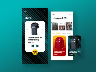 Football Jersey App Concept