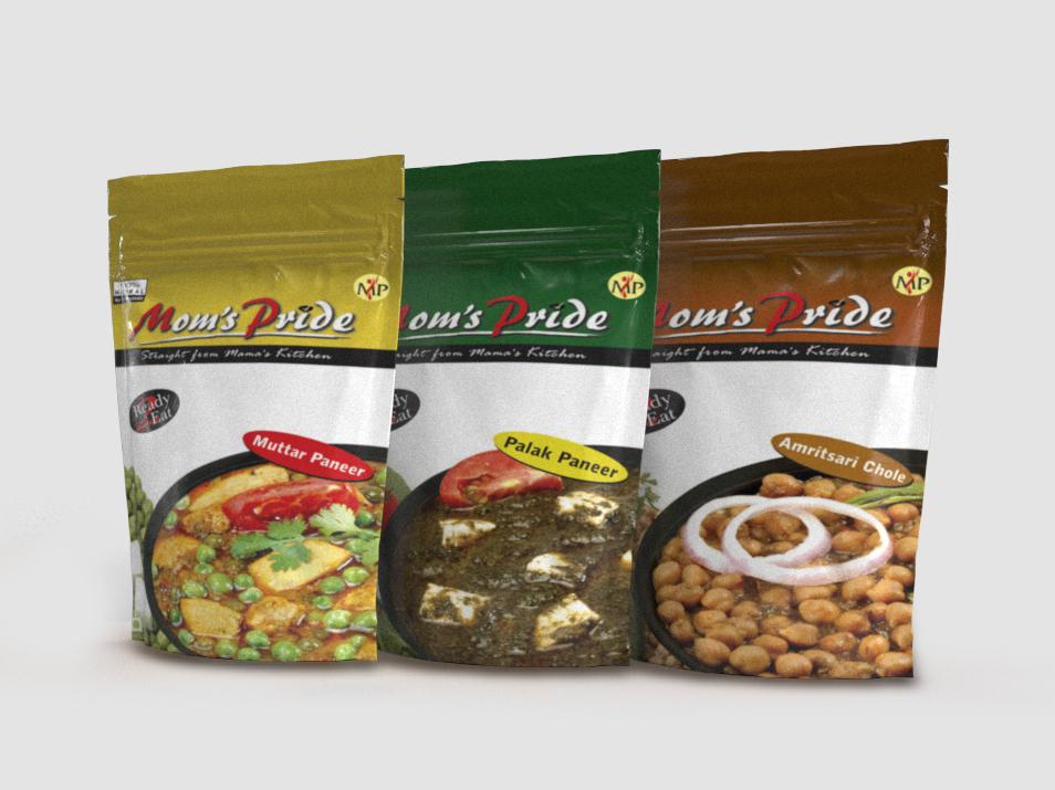 Ready to Eat Food Pouch amritsari chhole palak paneer matar paneer food pouch ready to eat