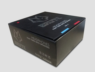 Packaging Box Design for Headphone