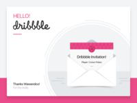 Hello Dribbble! ✌🏼