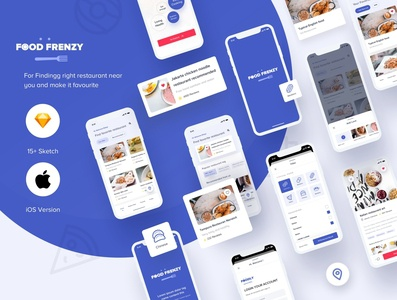 Food Frenzy UI Kit