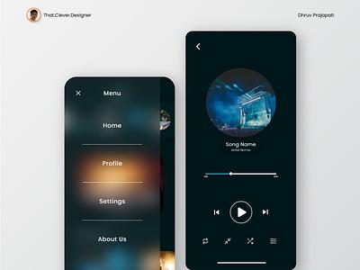 Music App UI Design music app music app design music app ui ux uiux ui design ui uidesign ios app design app design android app design