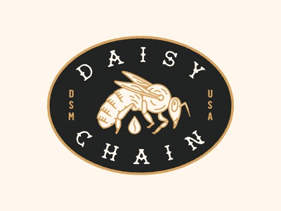 Daisy Chain Concept coffee shop des moines logo
