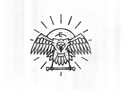 Vulture tattoo minimal twenty one pilots merch