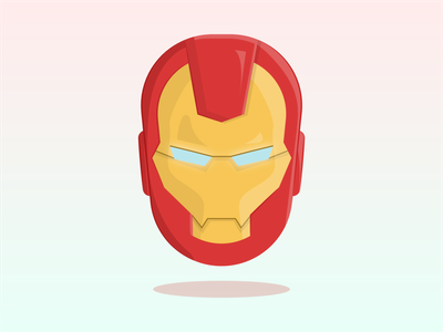 Iron Man animation marvel iron man ironman avengers avenger vector illustrator illustration flat design clean art