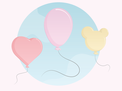 Balloons illustration
