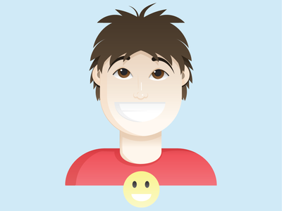 Portrait graphicdesign portrait vector minimal illustrator illustration flat design clean art