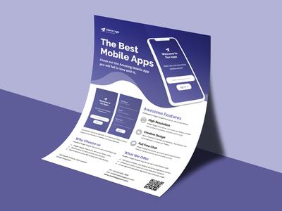 Mobile Apps Promotion Flyer