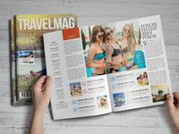 Travel Magazine Design