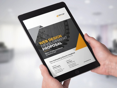 Digital Agency E-Proposal Design