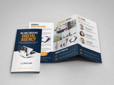 Portfolio Trifold Brochure Design