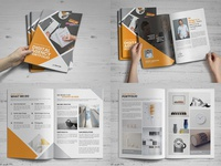 Digital Agency Portfolio Brochure