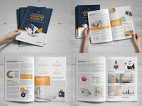 Portfolio Bifold Brochure Design