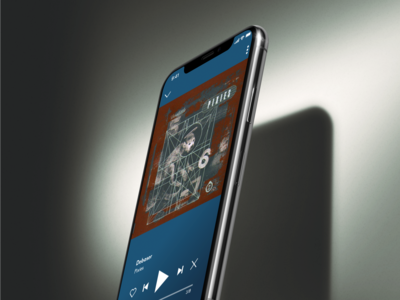 Soundscapes Music Player App UI