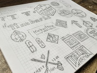 Timberline Farm Logo Sketches