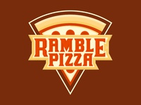Ramble Pizza Truck Logo