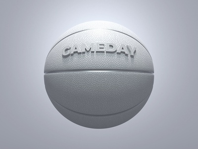White Basketball