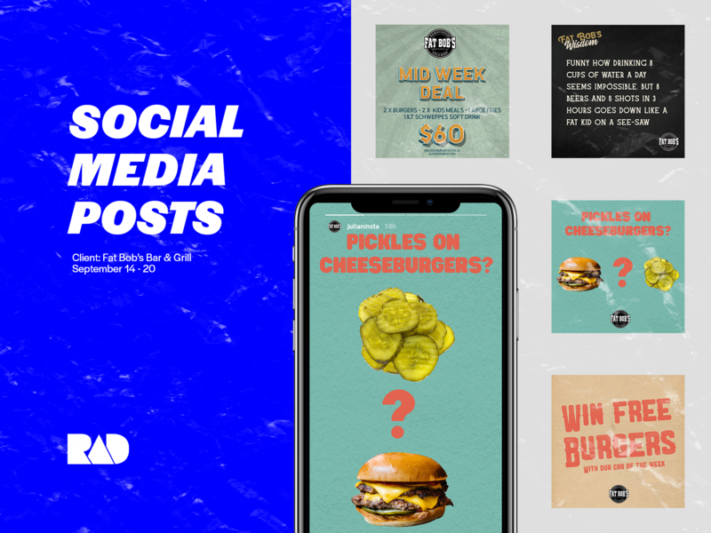 Social Media Posts burgers burger instagram stories instagram post instagram social media design social network social media socialmedia social vector branding typography design