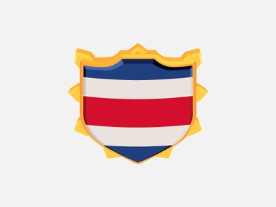 Costarican Shield CoC shield clash of clans coc costa rica
