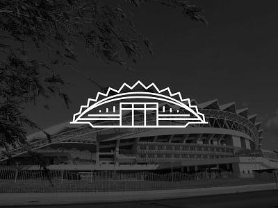 Estadio Nacional Icon icon stadium costa rica branding brand logo