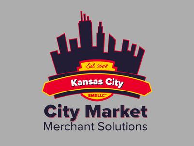 City Market branding adobe illustrator logo design logo