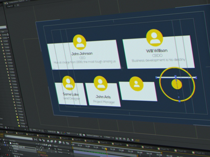 Finishing Touches on my Infographics Pack 2d after effects screenshot chart gif infographics motion graphic wip