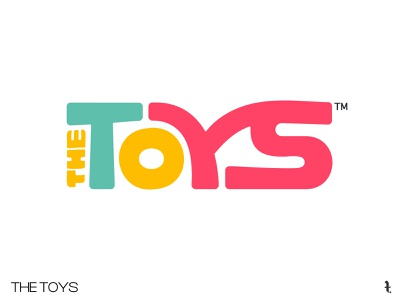 THE TOYS | Day 49th | #dailylogochallenge lettering icon branding minimal project logo typography dailylogochallenge vector design