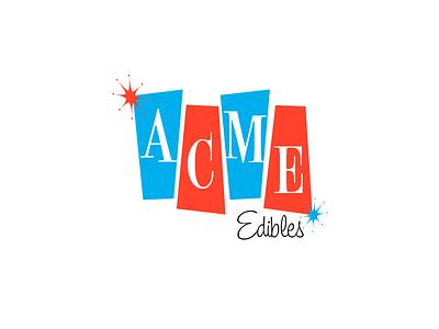 Acme Edibles Rebound 1 turn of the centuary atomic age retro acme edibles