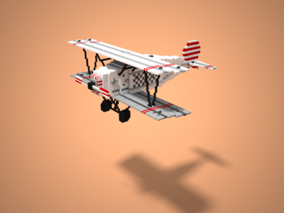 Voxel Wars! The aircraft