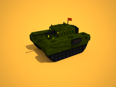 Voxel Wars! The Tank
