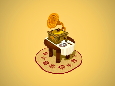 Voxel Gramophone