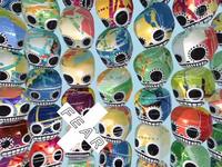 Generative mexican skulls