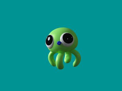 Octopus animation