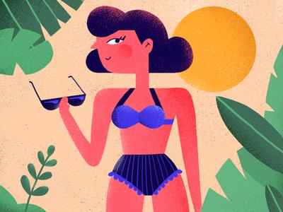 sweet summer sunburn
