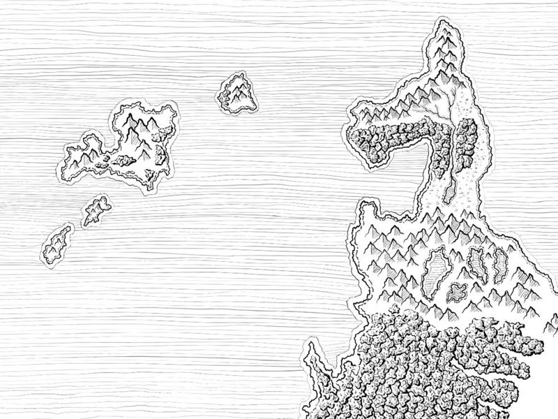 Sepik Olpharal Detail fantasy maps