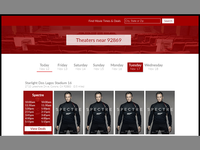 Movie Theater Listings Project (in progress)