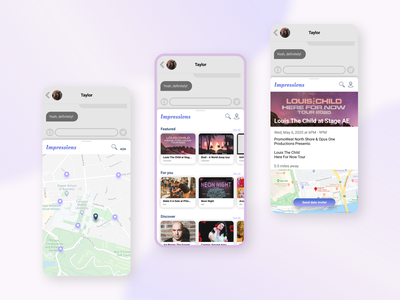 Event Discovery Mobile Plugin branding app mobile design service design plugin mobile ux ui