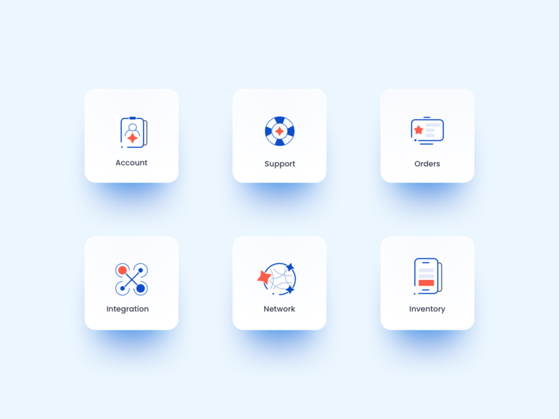 Icon Pack inmobi ui icon design iconography icon set product design