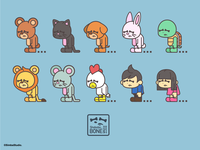 ShoboboBONEs Animal style