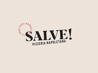 Naming and Logo for Neapolitan Pizzeria restaurant neapolitan logo typography branding logo design naming pizza