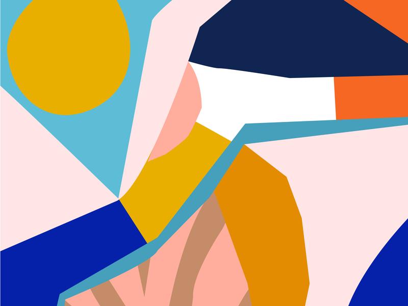 Color Abstraction color surface design pattern design design