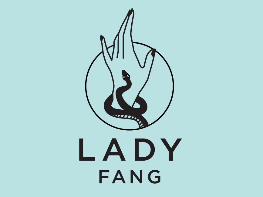 Lady Fang Logo Variant icon logo design illustration logo typography branding illustrator vector design