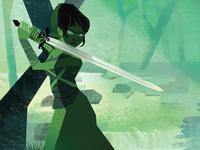 women with swords