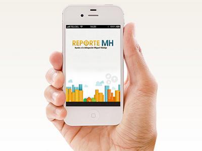 Reporte MH city mobile miguel hidalgo design app