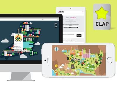 CLAP Awards digital illustration clap awards mexico design awards