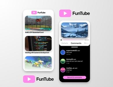 FunTube Mobile Concept