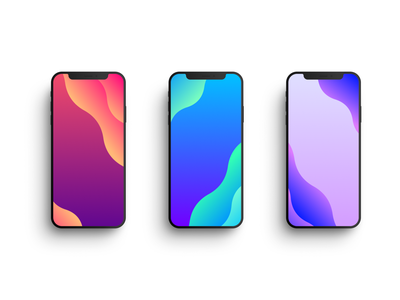 Free iPhone Wallpapers modern waves wave gradient color figma mobile design mobile phone iphone 6 iphone bg bg iphone 11 pro iphone 11 iphone x wallpaper design wallpaper wallpapers free iphone