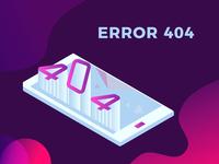 Isometric Error 404